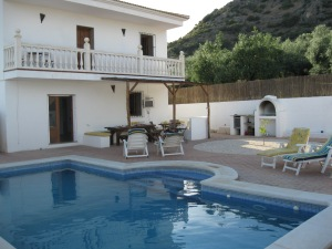 Our home in La Celada, Iznajar, Cordoba, Spain (Adalucia) 2009