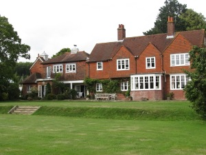 Our English Manor exchange, East Sussex, England 2011