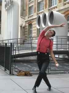 A Great French Mime