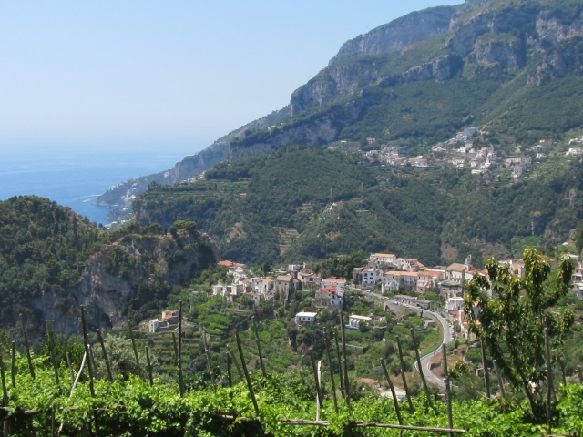 Beautiful views from Ravello