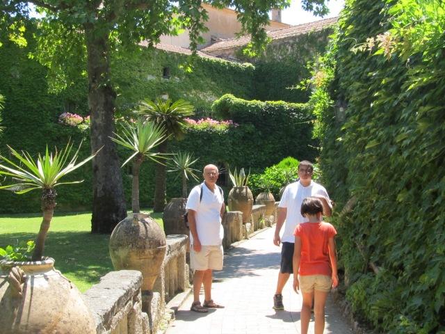 Ravello's Villa Ciambrone Gardens are divine!