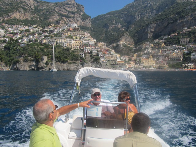 Leaving Positano was beautiful