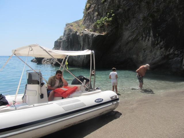 Docking in a private cove; incredible!
