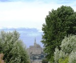 Mont Saint Michel from a Distance